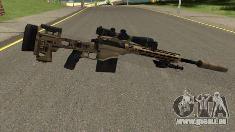 Remington MSR pour GTA San Andreas deuxième écran