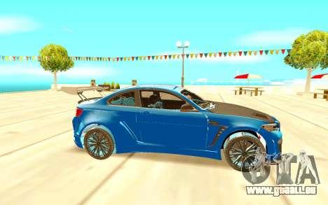 BMW M2 pour GTA San Andreas laissé vue