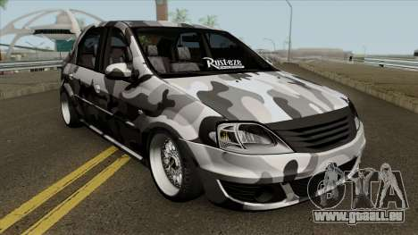 Dacia Logan Stance für GTA San Andreas Innenansicht