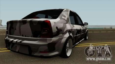 Dacia Logan Stance für GTA San Andreas rechten Ansicht