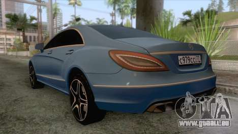 Mercedes-Benz CLS 63-AMG für GTA San Andreas linke Ansicht