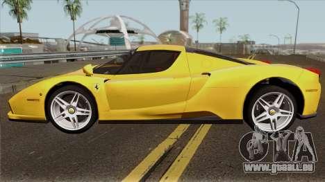 Ferrari Enzo 2003 für GTA San Andreas linke Ansicht