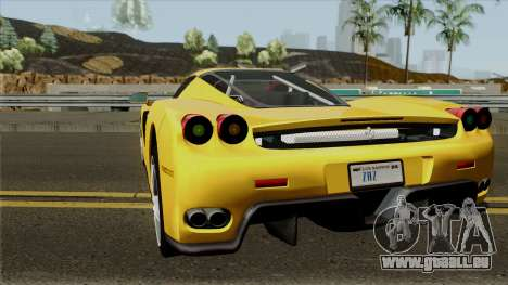 Ferrari Enzo 2003 für GTA San Andreas zurück linke Ansicht