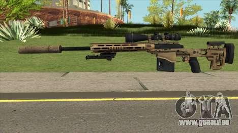 Remington MSR pour GTA San Andreas