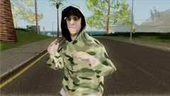 Bmost en tenue de Camouflage