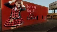 Wall LS Nabilah JKT48 pour GTA San Andreas