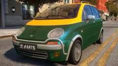 1997 Daewoo dArts City Concept pour GTA 4