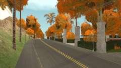 Herbst Blätter auf den Bäumen v1.0