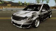 Dacia Logan Stance für GTA San Andreas