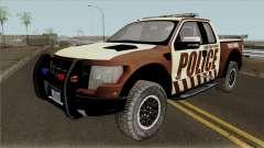 Ford F-150 Raptor 2016 Bone County Police pour GTA San Andreas
