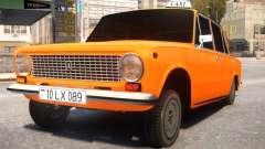 VAZ 21011 Taxi Style By Nicat pour GTA 4
