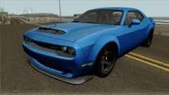 Dodge Challenger Demon 2017 für GTA San Andreas
