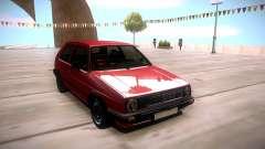Volkswagen Golf 2 für GTA San Andreas