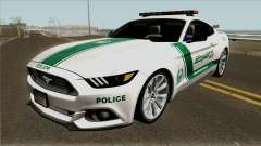 Ford Mustang GT 2015 Dubai Police RedBull Dubai