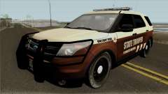 Ford Explorer 2012 Bone County Police