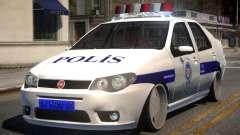Fiat Albea Turk Police für GTA 4
