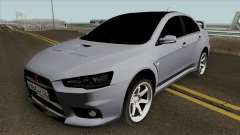 Mitsubishi Lancer Evolution X Light Tuning für GTA San Andreas