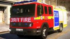 London Fire Brigade Atego Fire Appliance für GTA 4