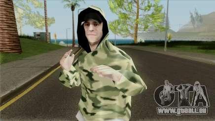 Bmost en tenue de Camouflage pour GTA San Andreas