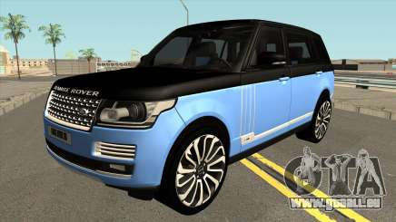 Land Rover Range Rover SVA für GTA San Andreas