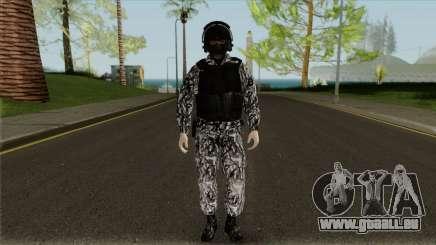 L'employé de SOBR pour GTA San Andreas