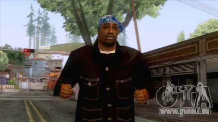 Crips & Bloods Fam Skin 8 pour GTA San Andreas