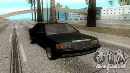 Mercedes-Benz 190E (W201) pour GTA San Andreas