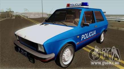 Yugo Koral Policija für GTA San Andreas