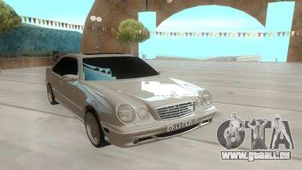 Mercedes-Benz E55 W210 белый pour GTA San Andreas