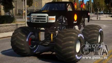 Monster Truck V.1.2 pour GTA 4