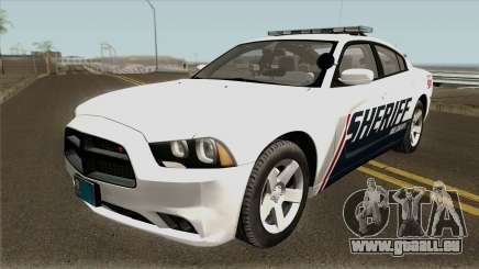 Dodge Charger Red County Sheriff Office 2013 für GTA San Andreas