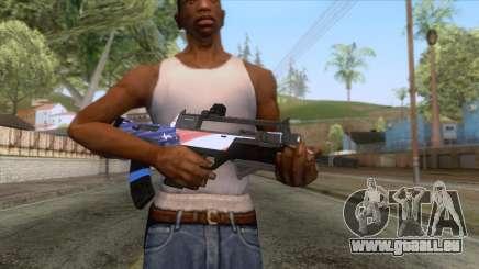 The Doomsday Heist - Assault Rifle v2 für GTA San Andreas