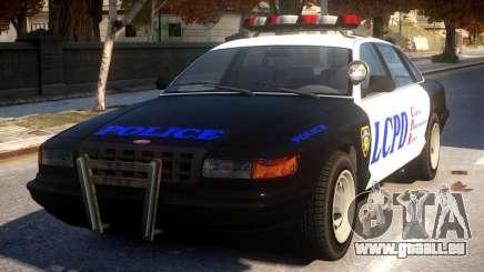 GTA 5 Vapid Police pour GTA 4