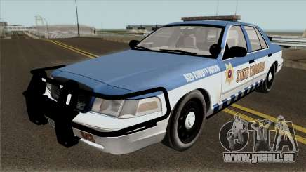 Ford Crown Victoria 2011 Red County Police für GTA San Andreas