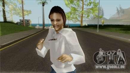 La fille dans le sweat-shirt pour GTA San Andreas
