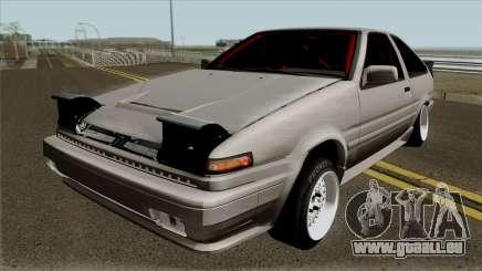 Toyota Sprinter Trueno AE86 für GTA San Andreas