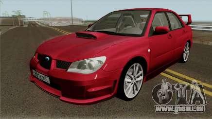 Subaru Impreza WRX STI 2004 für GTA San Andreas