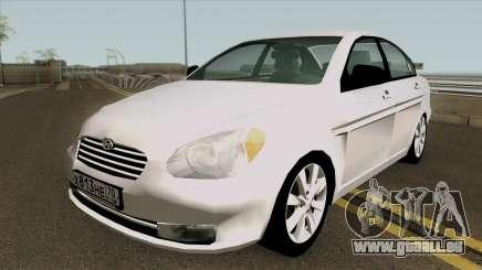 Hyundai Accent 2007 pour GTA San Andreas