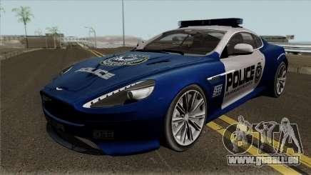 Aston Martin Virage 2011 FCPD pour GTA San Andreas