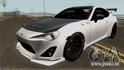 Toyota GT86 GRMN Edited pour GTA San Andreas
