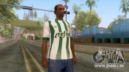 Palmeiras - Away T-Shirt für GTA San Andreas