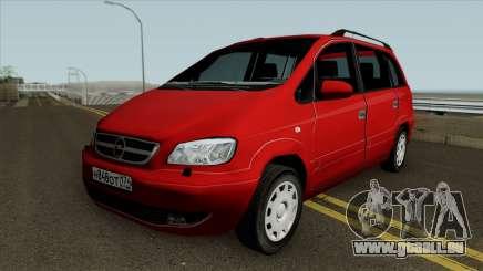 Opel Zafira Diesel pour GTA San Andreas