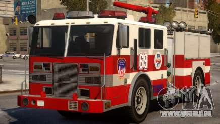 Fire Truck Real New York pour GTA 4