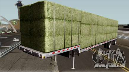 Alfalfa Bale Trailer pour GTA San Andreas