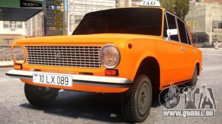 VAZ 21011 Taxi Style By Nicat für GTA 4