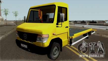 Mercedes-Benz Vario Tow Truck für GTA San Andreas
