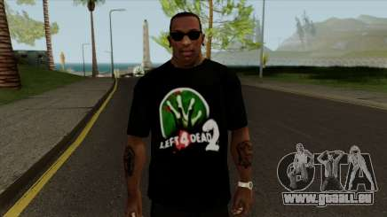T-Shirt Let 4 Dead 2 für GTA San Andreas