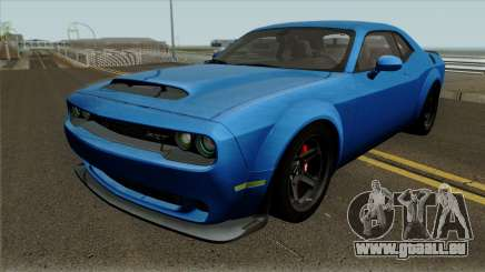 Dodge Challenger Demon 2017 für GTA San Andreas
