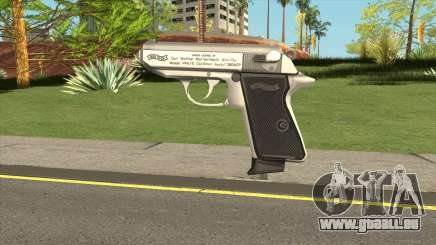 Walther PPK (Low Poly) für GTA San Andreas