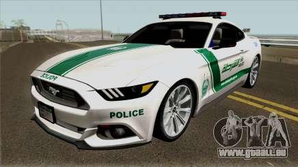 Ford Mustang GT 2015 Dubai Police RedBull Dubai pour GTA San Andreas